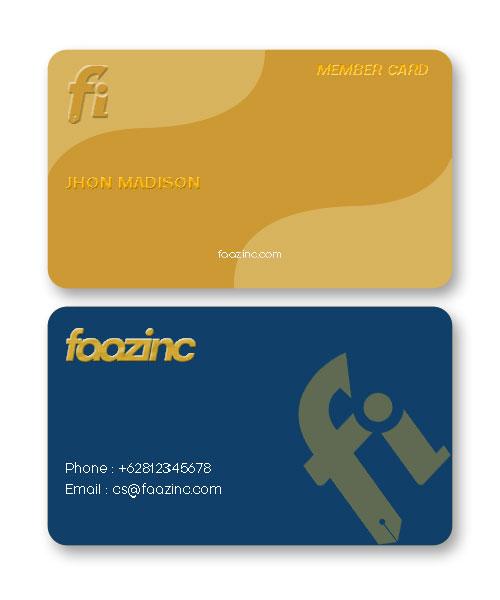 Desain Member Card